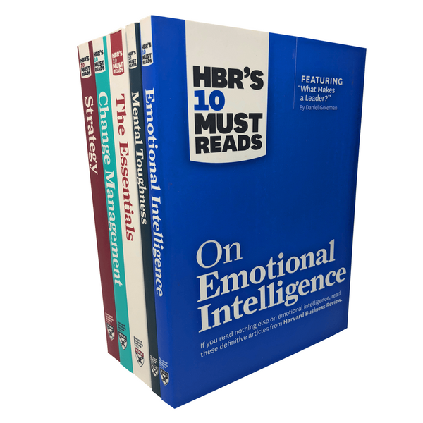 HBR's 10 Must Reads 5 Books Set Collection, The Essentials, Strategy