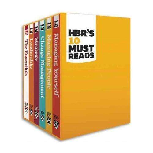 HBR's 10 Must Reads 6 Books Set Collection, The Essentials, Strategy