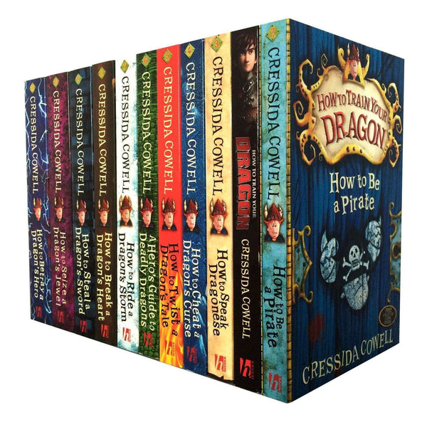Hiccup How to train your Dragon 11 Books Collection Set