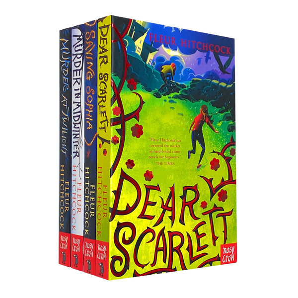 Fleur Hitchcock 4 Books Set Collection Inc Dear Scarlett Paperback