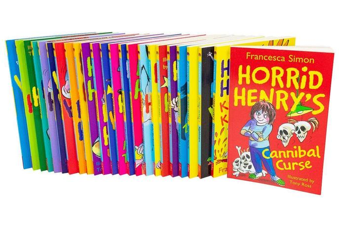 Horrid Henry The Complete Story Collection 24 Books Box Set Pack Francesca Simon