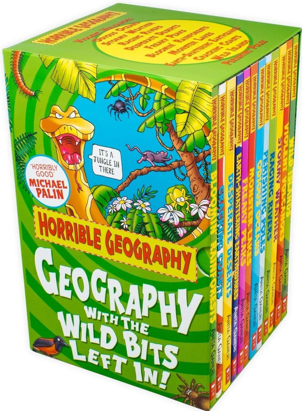 Horrible Geography Collection 12 Books Box Set Series