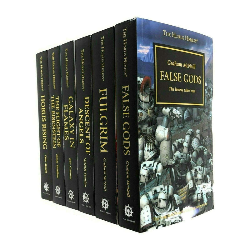 Horus Heresy Series (1-6) Galaxy in Flames False Fulgrim 6 Books Collection Set