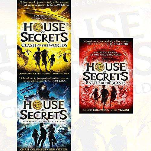 House of Secrets 3 Books Collection Set By Chris Columbus and Ned Vizzini