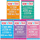 How to Talk So Kids and Teens Will Listen Collection Adele Faber 5 Books Set