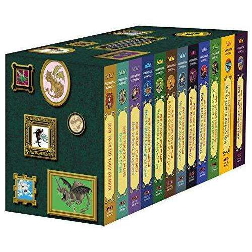 How to Train Your Dragon 12 Books Complete Series Box Set By Cressida Cowell