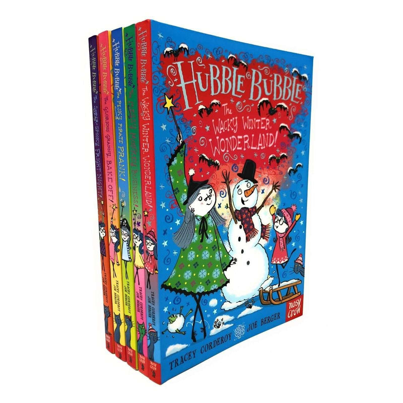 Hubble Bubble Series Tracey Corderoy 5 Books Collection Set Wacky Winter Wonderland