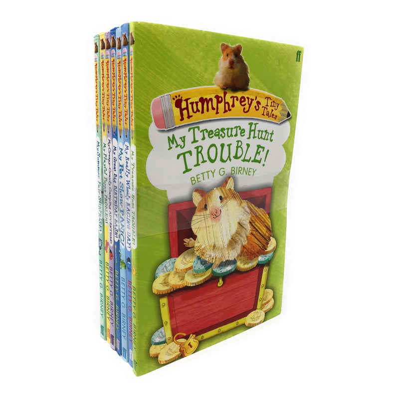 Humphreys the hamster tales x 7 book set collection By Betty G Birney