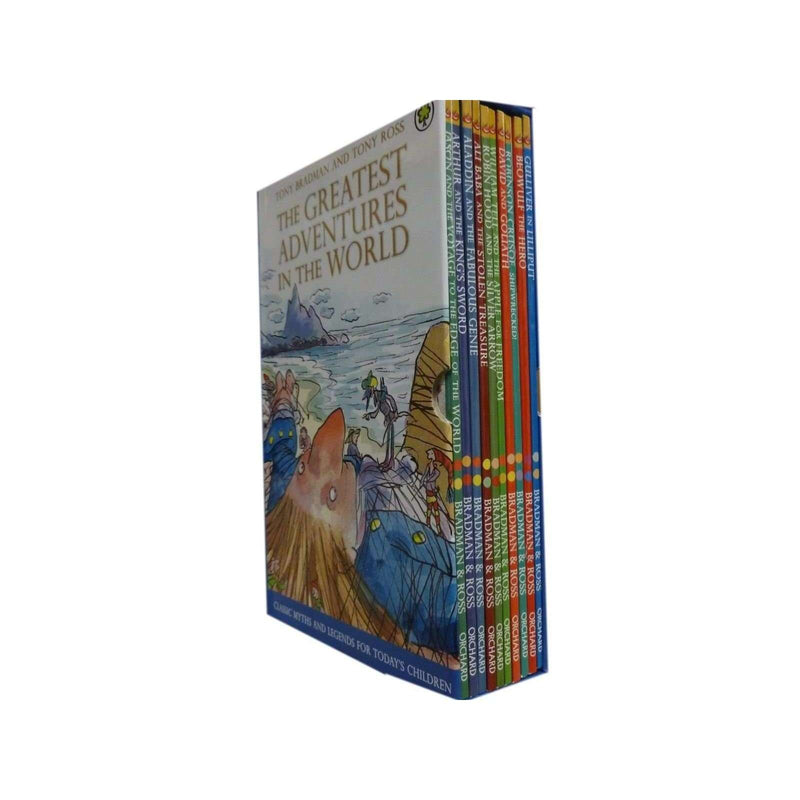 Illustrated Children's Classic 10 Story Books Collection Set (The Greatest Adventures in the World)