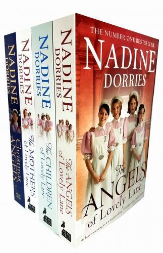 Lovely Lane Series 4 Books Collection Set By Nadine Dorries Christmas Angels