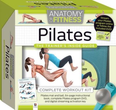 Pilates Anatomy of Fitness The Trainers Inside Guide Complete Workout Kit
