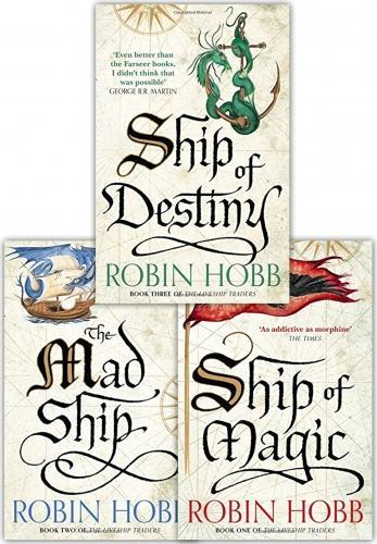 Robin Hobb Collection 3 Books Set The Liveship Traders Ship of Destiny