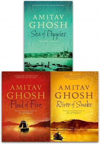 Ibis Trilogy Series 3 Books Set Collection Amitav Ghosh, Sea Of Poppies