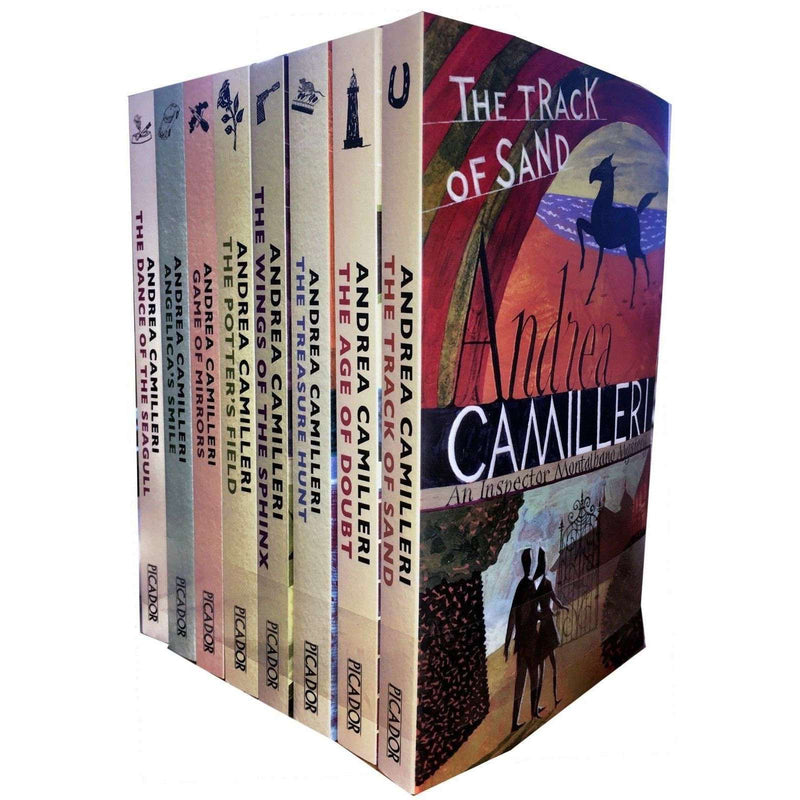Inspector Montalbano Series 2 Collection Andrea Camilleri 8 Books Set Pack (Book 11-18)