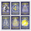 Isaac Asimov Foundation Series 6 Books Collection Set Pack Foundation's edge
