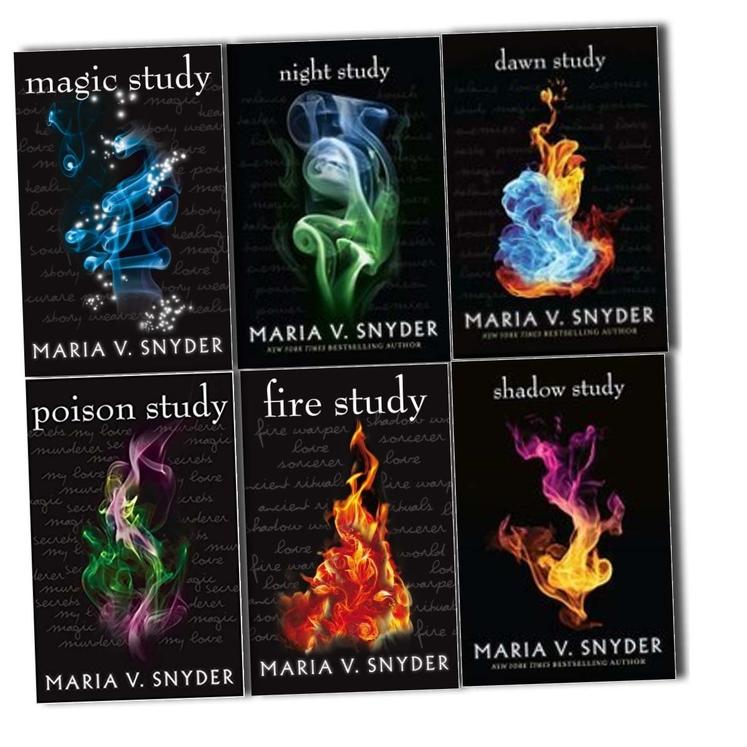 Chronicles Of Ixia Series 6 books box set collection by Maria V. Snyder