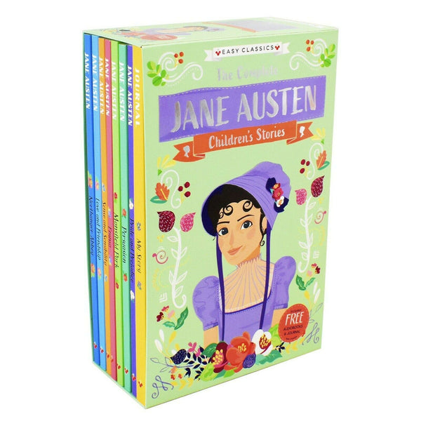 The Complete Jane Austen Children's Stories 8 Books Collection Set Easy Classics