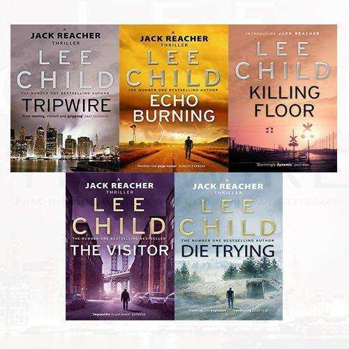 Jack Reacher Series 1 & 2 10 Books Collection Set By Lee Child