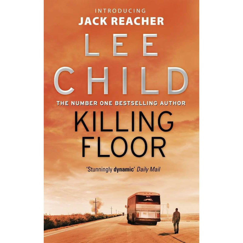 Jack Reacher Series (1-5) 5 Books Collection Set By Lee Child