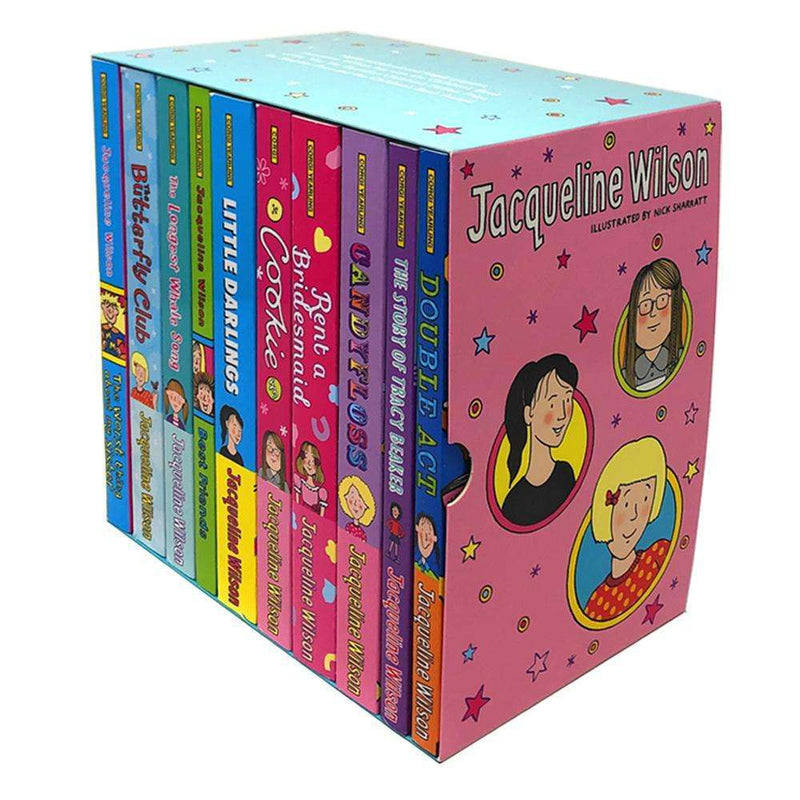 Jacqueline Wilson 10 Books Collection Set Pack Illustrated By Nick Sharratt