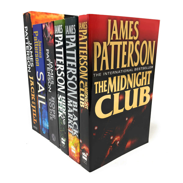 James Patterson 6 Books Set Collection, The Midnight Club, Sail, Jack and Jill