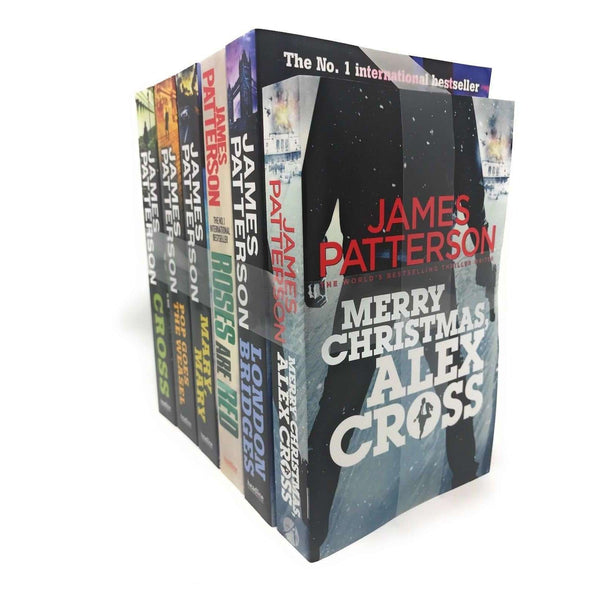 James Patterson 6 Books Set Merry Christmas Alex Cross, Pop Goes The Weasel