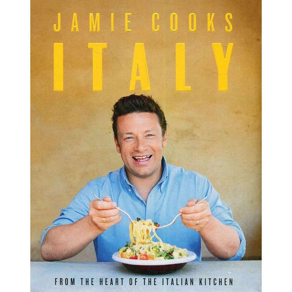 Jamie Cooks Italy By Jamie Oliver Ultimate Italian Cookbook Hardback
