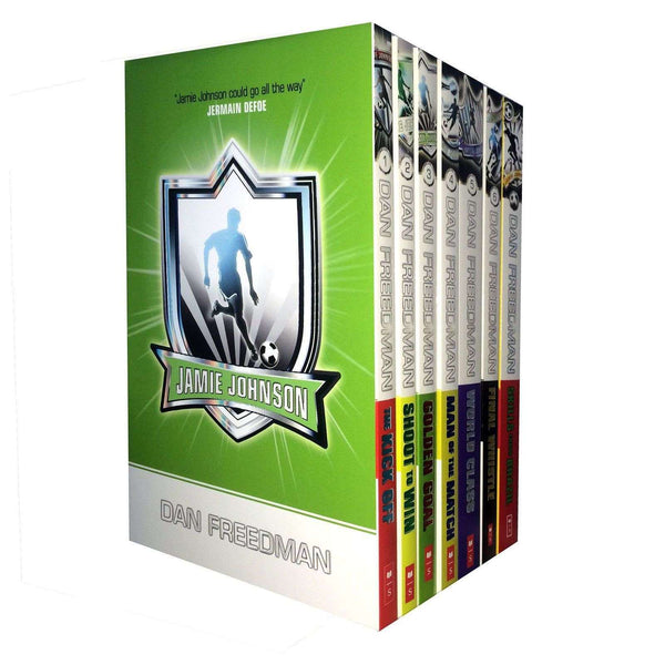 Jamie Johnson Football Series 7 Book Collection Skill from Brazil ultimate hero