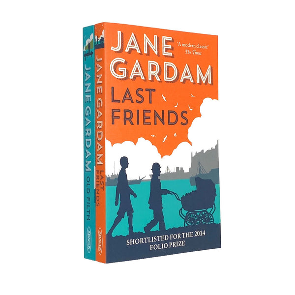 Jane Gardam 2 Books Set Collection Last Friends, Old Filth