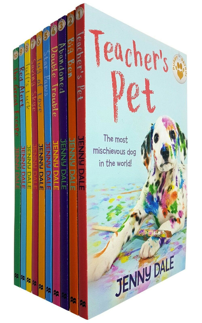 Jenny Dale 10 Books Collection Set Puppy Patrol Star Paws Red Alert