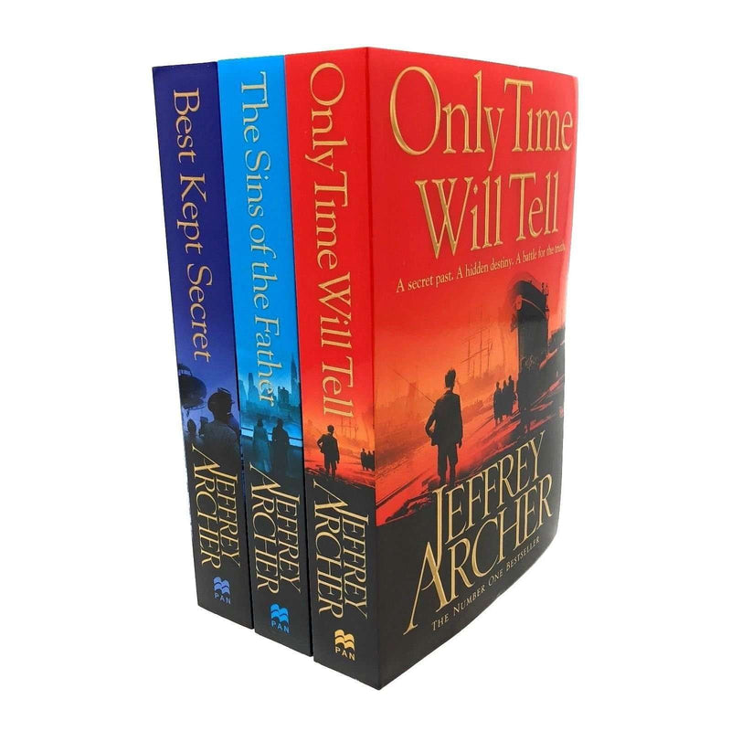 Jeffrey Archer The Clifton Chronicles Collection 3 Books Set Only Time Will Tell