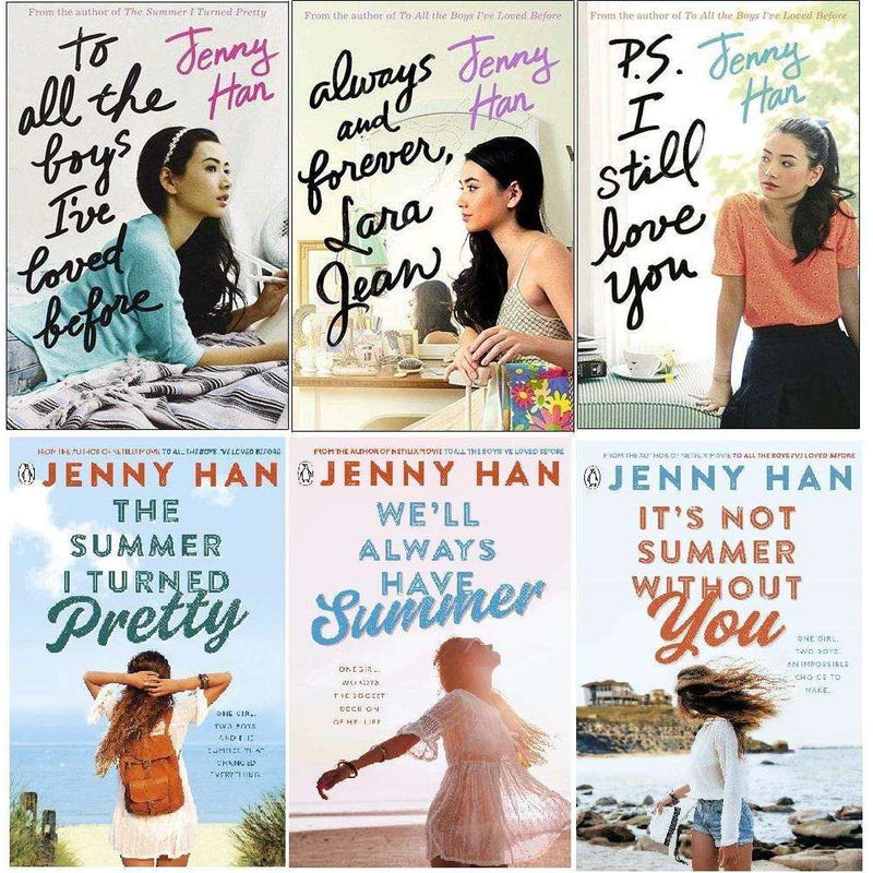 Jenny Han To All The Boys I've Loved And The Summer 6 Books Collection Set