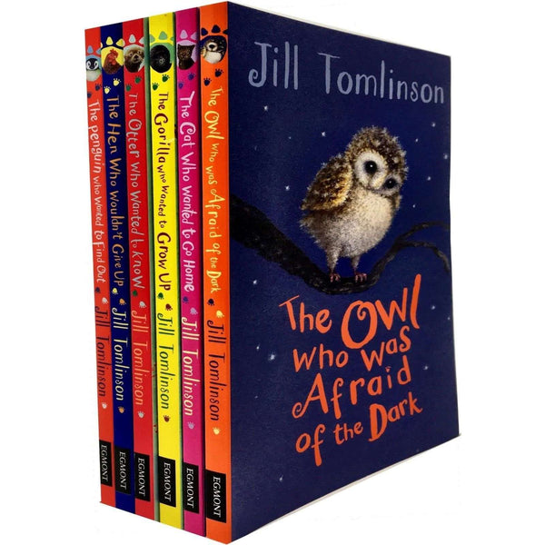 Jill Tomlinsons Favourite Animal Tales 6 Books Collection Set