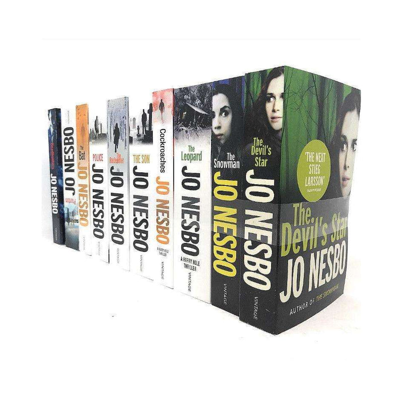 Jo Nesbo Collection 10 Books Set Inc Harry Hole Thriller- (The Snowman, The Leopard, Phantom)