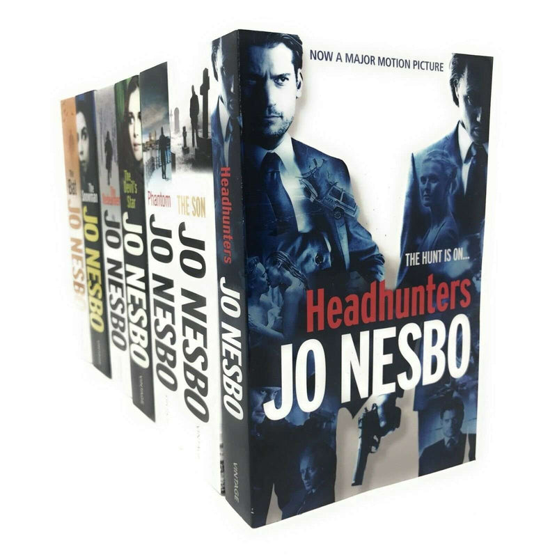 Jo Nesbo Collection 7 Books Set - The Snowman,The Devil's Star,The Redeemer, The Sun, The Bat