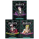 Jojo's Bizarre Adventure Series 1 Collection 3 Books Set Pack By Horihiko Araki