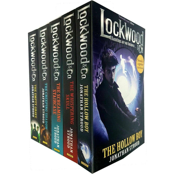 Jonathan Stroud Lockwood and Co Series 5 Books Collection Set Screaming Staircase