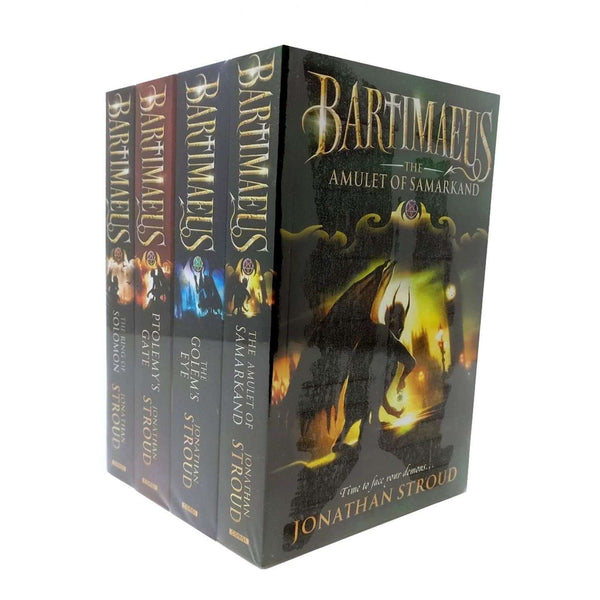Jonathan Stroud The Bartimaeus Series 4 Books Set Collection Childrens Fantasy