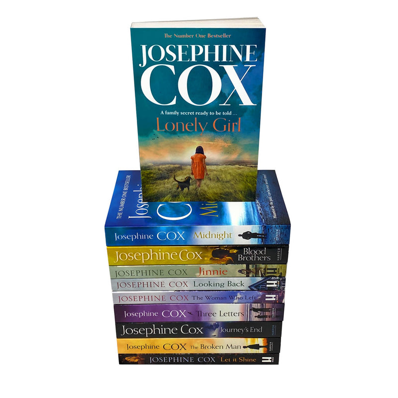 Josephine Cox 10 Books Collection Set Pack Inc Lonely Girl, Jinnie, Let It Shine