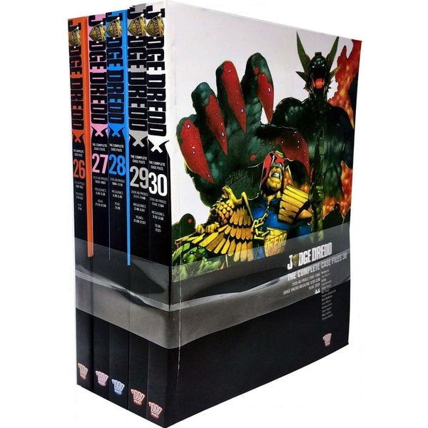 Judge Dredd Complete Case Files Volume 26-30 Series Collection 5 Books Set (Series 6)