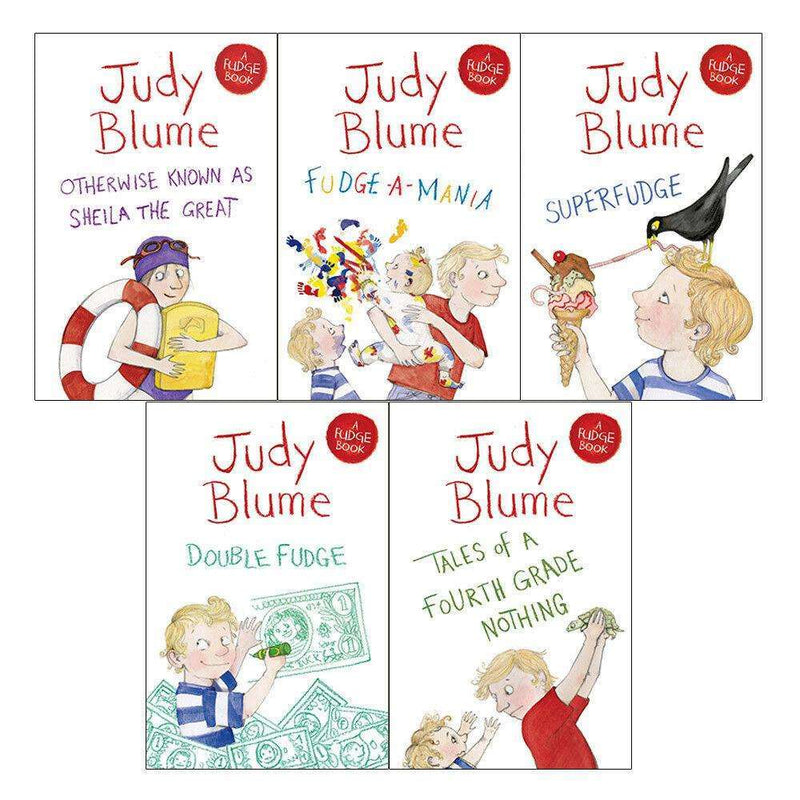 Judy Blume Collection 5 Book Set Fudge Series