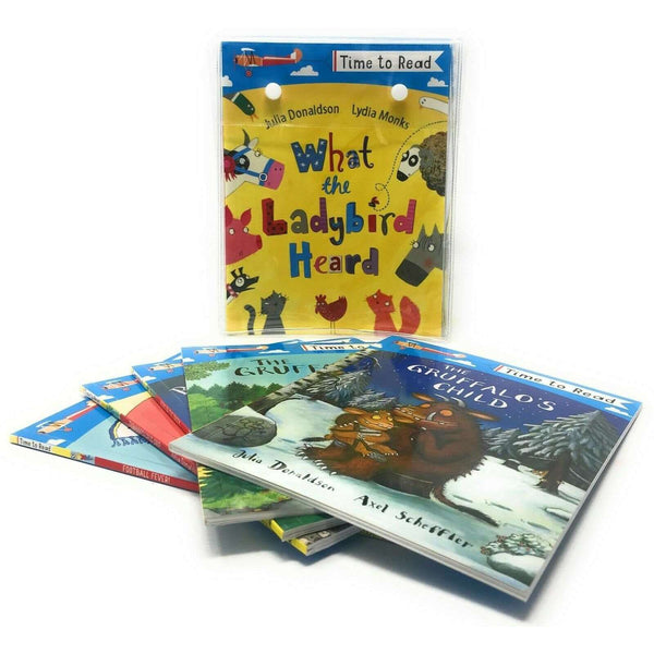 Julia Donaldson Time To Read 20 Books Set illustrated Collection - The Gruffalo
