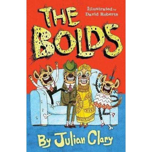 Julian Clary 4 Books Collection Set Bolds,Bolds to the RescueBolds on Holiday
