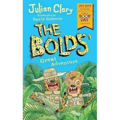 Julian Clary 5 Books Collection Set Pack - Bolds in Trouble,Rescue,Holiday,Great