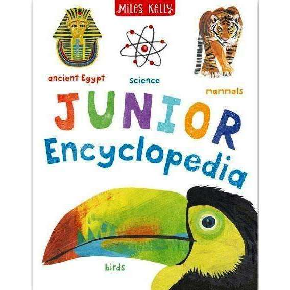 Junior Encyclopedia Single Book By Miles Kelly
