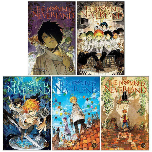 Kaiu Shirai By The Promised Neverland Vol. 6-10 Collection 5 Books Set