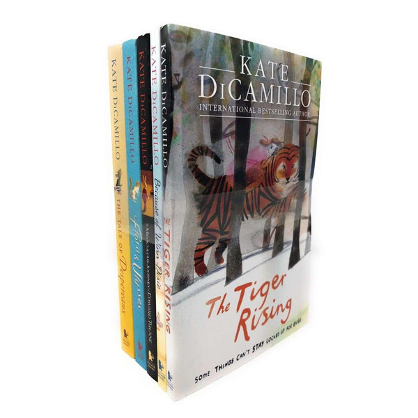 Kate Dicamillo 5 Books Set Collection, Tiger Rising, Because Of Winn-Dixie