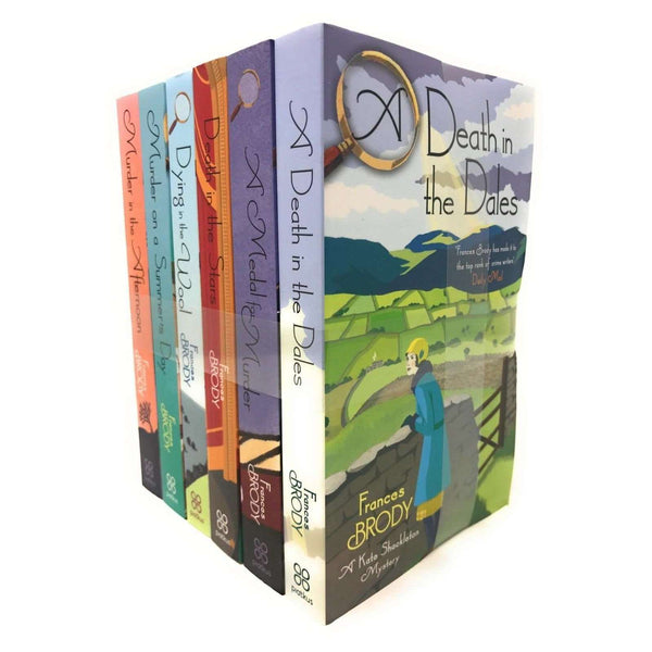 Kate Shackleton Mysteries Collection by Frances Brody 6 Books Set