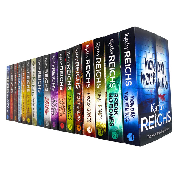 Kathy Reichs Temperance Brennan Series 18 Books Set Collection (Series 1-3)