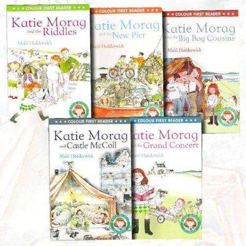 Katie Morag 5 Book Set Collection By Mairi Hedderwick Inc Grand Concert